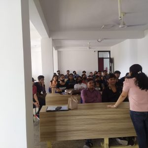 Interaction with Alumni